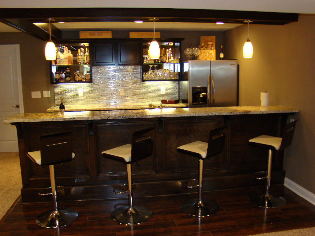 Bars and kitchens image gallery - Basement kitchen and bar ideas ...