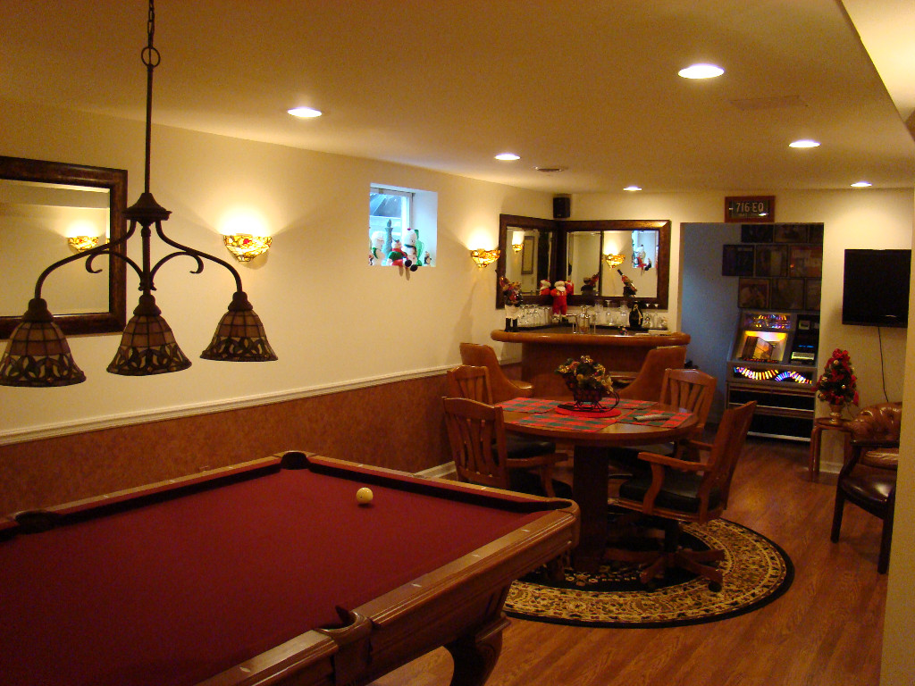 Small Basement Family Room