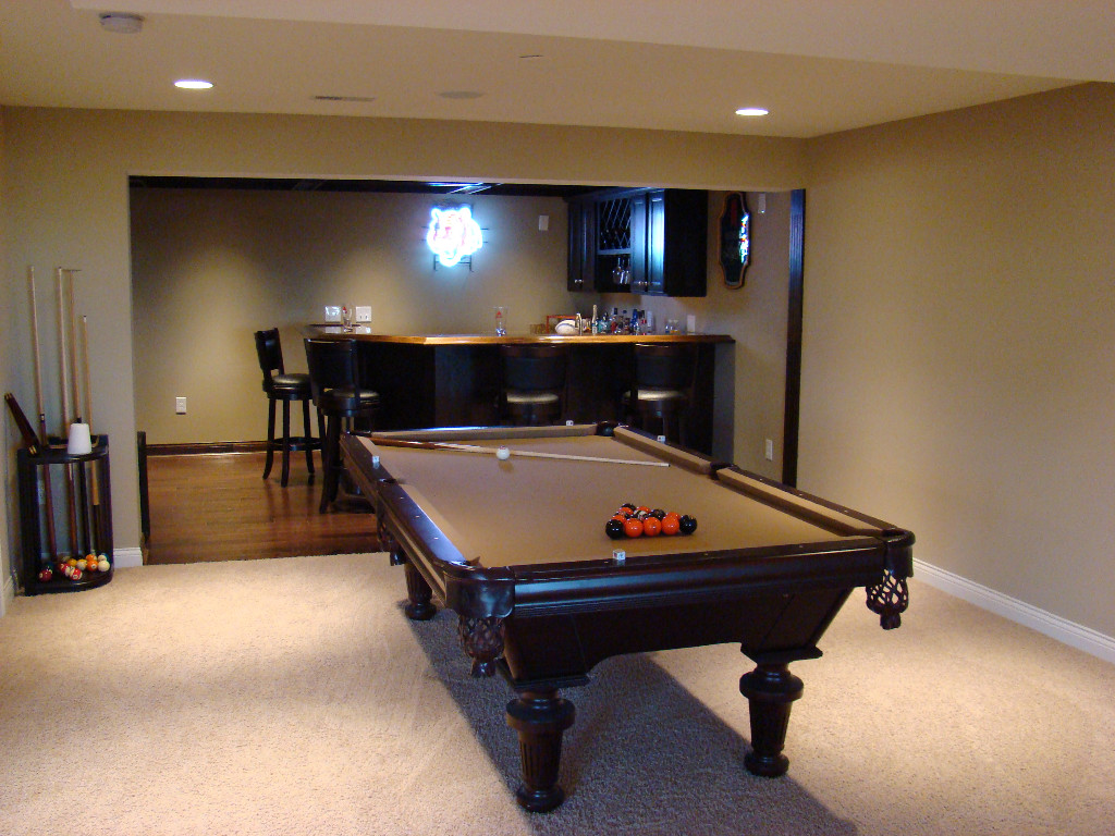 Game rooms image gallery Basement game room ideas
