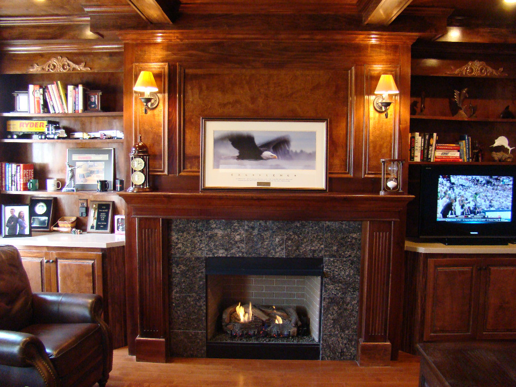 Fireplace finish ideas love it or list it season 5 episode 11 the finlay family living room - Fireplace finish ideas ...