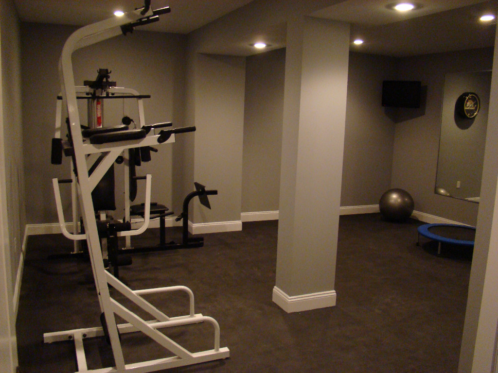 Home gyms image gallery for In home flooring