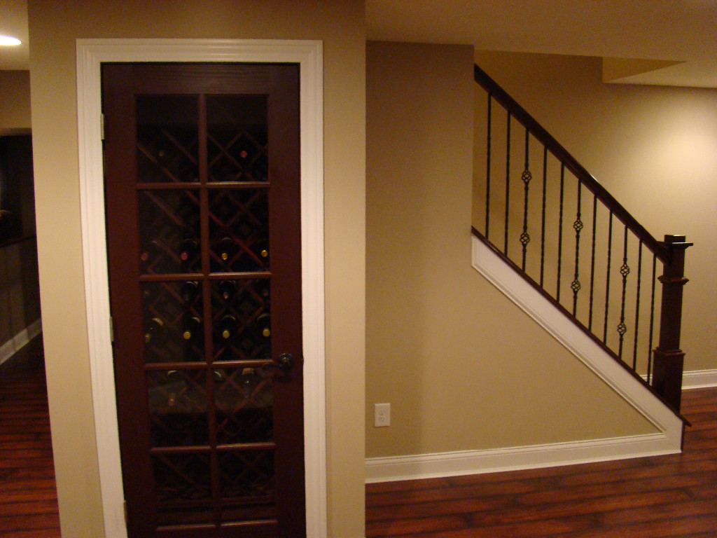 ways to finish and utilize the space under the basement stairs