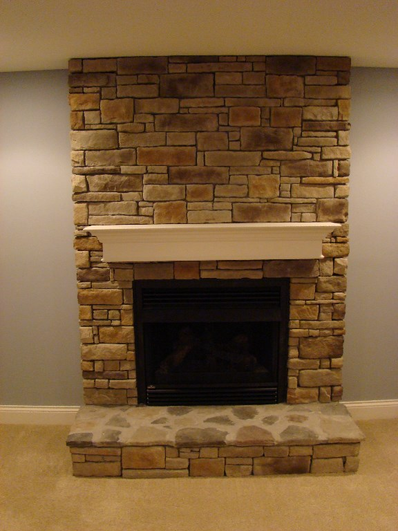 Fireplaces image gallery - Fireplace finish ideas ...