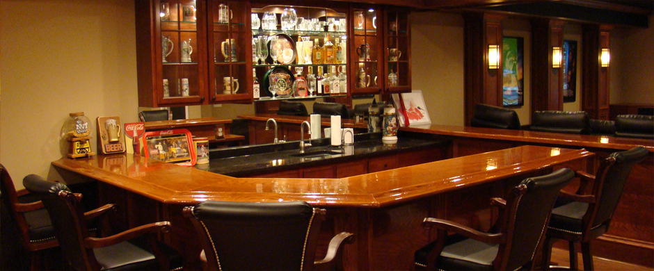 Finished Basement Bar Ideas the finished basement: specializing in basement finishing and