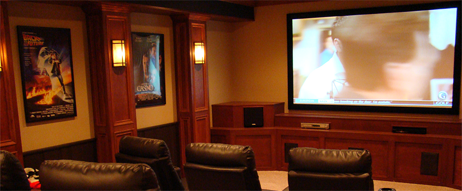 basement finishing home theaters